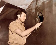 "LOUIS SILVIE ZAMPERINI OLYMPIAN WWII VETERAN POW 8x10"" HAND COLOR TINTED PHOTO"