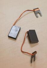 2 Stück Kohlebürste RX65 6,3x16x25mm + Anschlusskabel & Kabelschuh SGL 02.01.017