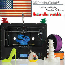 CTC 3D Printer - Dual Extruder - MK8 - Factory Direct Lowest Price- ABS/PLA