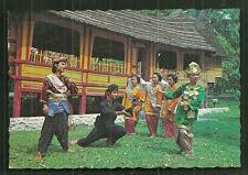 Minangkabau Magek Manandin Dance Costume Sumatra Indonesia stamps