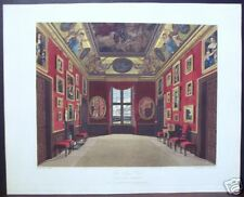"W. H. Pyne: ""The Kings Closet, Windsor Castle"" 1816"