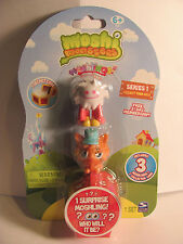 Moshi Monsters Moshlings 3 Pack  #54 Flumpy and # 03 Gingersnap  Series 1  NEW
