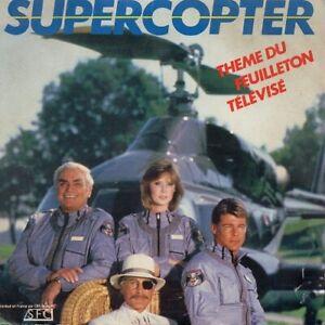 vinyles 45 tours générique série TV Supercopter