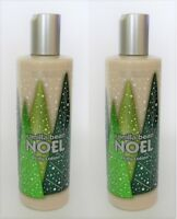 2 Bath and Body Works VANILLA BEAN NOEL Holiday Traditions Lotion 10 fl. oz. HTF