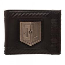 DC Comics Justice League Carbon Black Bi-Fold Wallet