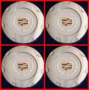 "NEW 2007-2014 CADILLAC ESCALADE 22"" WHEELS CHROME CENTER HUB CAP COLOR 9597355"