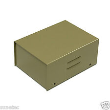 "ST352  4.5"" DIY Metal Electronic Fuzz Project Pedal Enclosure Box Case"