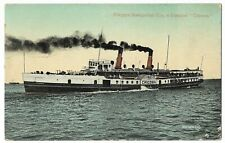 Shipping Niagara Navigation Paddle Steamer Chicora 1932 Vintage Postcard 17.3.1