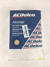 Disc Brake Pad-Ceramic Front ACDELCO ADVANTAGE 14D1092CH