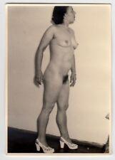 Vencida wife posing nude for avioneta/nudismo * vintage 1950s aficionado photo #18