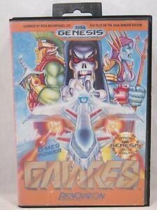Gaiares Case (SEGA Genesis) Authentic BOX ONLY!