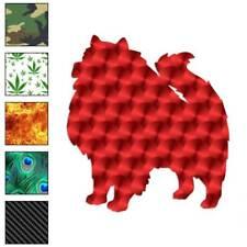 Keeshond Dog Decal Sticker Choose Pattern + Size #1972