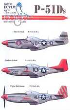 EagleCals Decals 1/72 NORTH AMERICAN P-51D MUSTANG Fighter Part 1