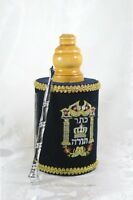 Small Hebrew Sefer Torah Scroll Book Jewish Israel Holy Bible
