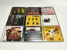Incognito Tony Remy & Bluey Japan Edition 9 CD Sets acid jazz funk soul
