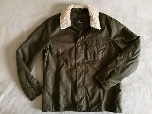 BARBOUR INTERNATIONAL Agusta Waxed Jacket SIZE L Archive Olive NWT Steve McQueen