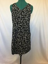 Old Navy Black and white shift dress size XS Womens