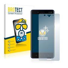 2x Film Protection Mat pour Nokia 8 Protecteur Ecran