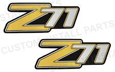 Pair Rear Liftgate Side Panel Z71 2 Emblem Replaces 15051184 Fits Suburban Tahoe