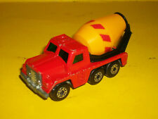 # VINTAGE MATCHBOX SUPERFAST NO. 19 CEMENT MIXER TRUCK MADE IN ENGLAND