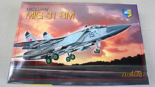 MiG-31 Bm 'Foxhound' Soviet interceptor 1/72 by Condor # 72011