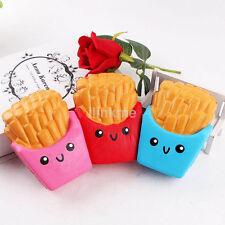 12CM Rare Squishies Kawaii French Fries Jumbo Squishy Phone Straps for Apple US