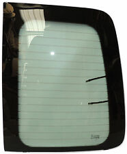 VW CADDY 2004 - RIGHT REAR DOOR GLASS (GREEN TINT)
