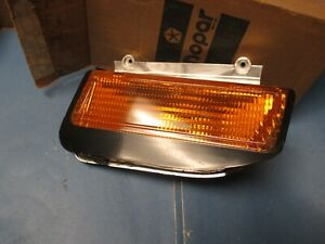 PARKLAMP ASSEMBLY N.O.S.79-87 HORIZON,OMNI,CHARGER,SHELBY 5207568