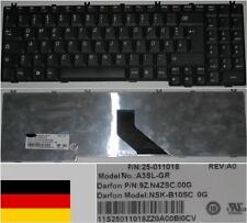Teclado Qwertz Alemán LENOVO V560 Serie, A3SL-GR, NSK-B10SC 9Z.N4ZSC.00G Negro