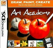 Art Academy (Nintendo DS, 2010) - PERFECT CONDITION - COMPLETE