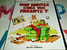 DVD- VOUS HABITEZ CHEZ VOS PARENTS ? Michel GALABRU Isabelle MERGAULT / DVD NEUF