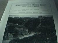 ephemera 1971 advert sportsman's arms hotel wath pateley bridge