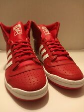 Adidas Men's Originals Top Ten High Shoes(EF2518)Scarlet/White-Scarlet Sz 9.5