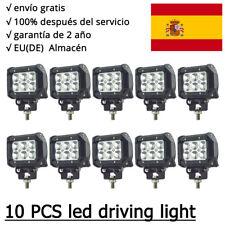 10X 18W barra de luz faro de trabajo LED Jeep Tractor barco camión Light Bar 12V