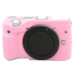 Durable Soft Silicone Skin Case Protector Bag Camera Cover For Canon EOS M3 New