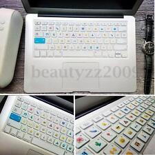 "Emoji Keyboard Cover Skin Protector For Macbook Air Pro Retina 13.3"" 15.4"" 17"""