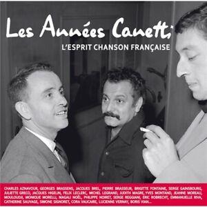Various – Les Années Canetti – L'Esprit Chanson Française 2 CD Neuf sous cello.