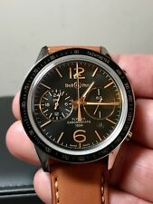 Bell and Ross Heritage GMT Flyback Chronograph Limited, 99% LNIB, Complete Set