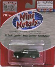 Classic Metal Works Ho/Hon3 1953 Ford Sedan Black (30292)