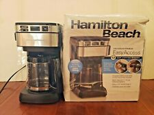 Hamilton Beach Programmable Easy Access 12-Cup Coffee Maker, 46310 (Broken)