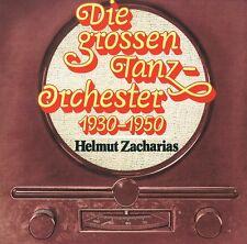 Helmut Zacharias - Die grossen Tanzorchester 1930-1950 -CD Neu Kosakenpatrouille