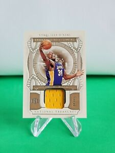 2020-21 National Treasures Timeless Treasures Materials /99 Shaquille O'Neal R62