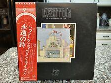 LED ZEPPELIN SONG REMAINS THE SAME import OBI JAPAN Vinyl P-5544~5N Record 2x LP