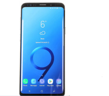 "Original Unlocked Samsung Galaxy S9 G960U 5.8"" Smartphone Black+Accessories Gift"