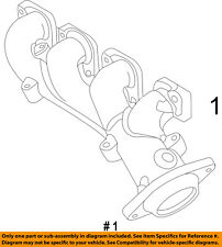 Jeep CHRYSLER OEM 12-14 Grand Cherokee 6.4L-V8-Exhaust Manifold Left 5038537AC