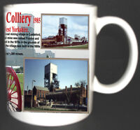 FRYSTON COLLIERY COAL MINE MUG LIMITED EDITION GIFT MINERS YORKSHIRE PIT