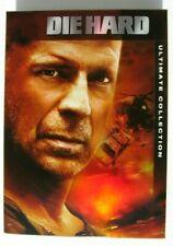 Die Hard Ultimate Collection 8 Dvd Set 1 2 Vengeance Live Free Bruce Willis Vg