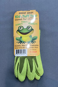 Bellingham Kids Green Gloves Size XSmall Great Grip Durable Machine Washable