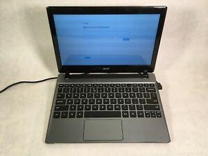 "Acer Chromebook C710 11.6"" Laptop Intel Celeron 2GB RAM 16GB eMMC"