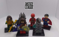 Brand New Custom lot of Justice League figures Batman Superman Cyborg